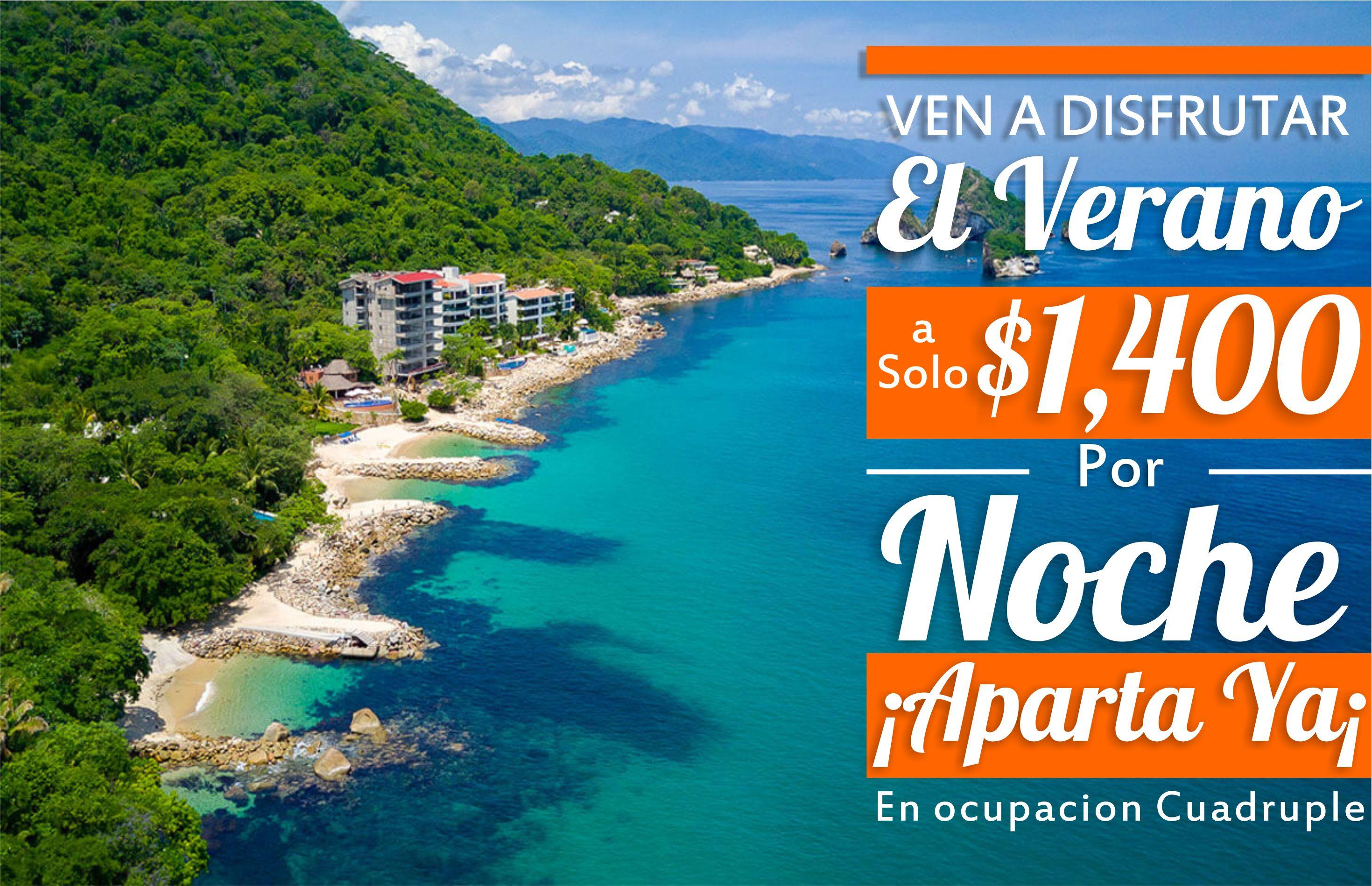 litoral costa bucerias promocion de verano 2020 BAJA